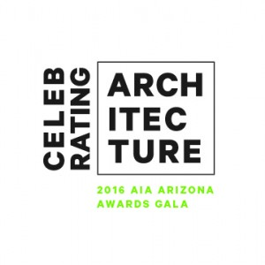 AIA AZ 2016 Design Awards Celebrating Architecture Logo