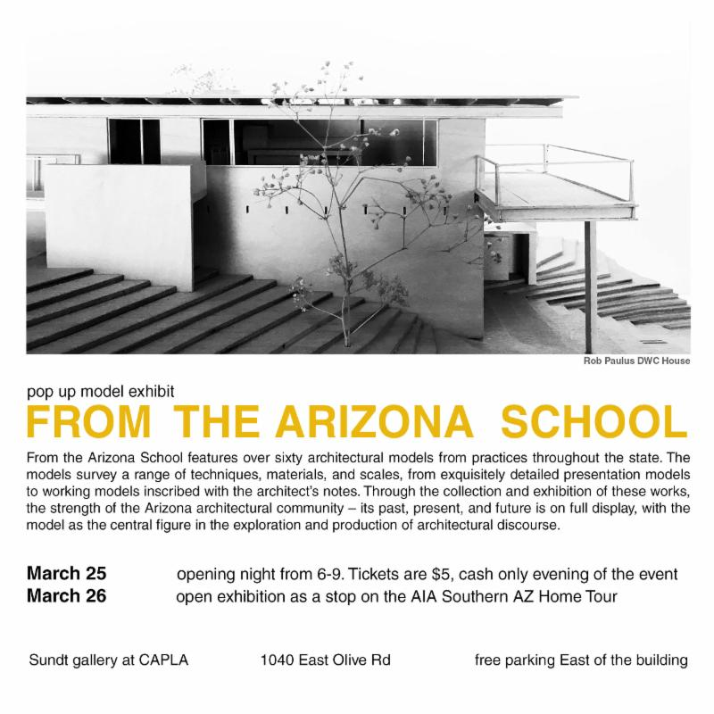 AIA SAC PopUp Model Exhibit Flyer