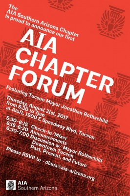AIA SAC Forum Flyer