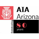 AIA AZ 80th Celebration Logo